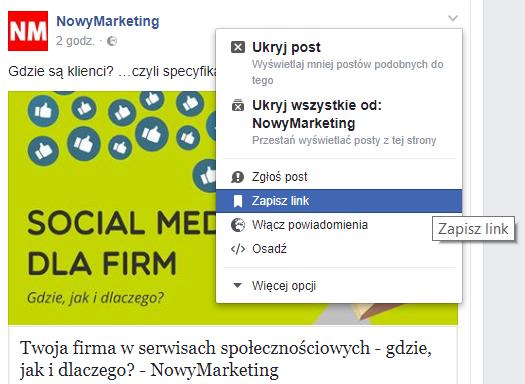 c391c26c5ebe78 Funkcje Facebooka przydatne w marketingu! - Poradnik Przedsiębiorcy